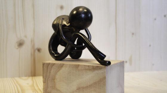 homme sculpture metal pascal masson gites hirondelles